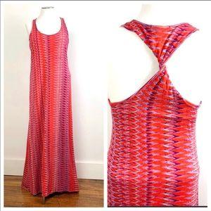 Ella Moss twisted back maxi dress